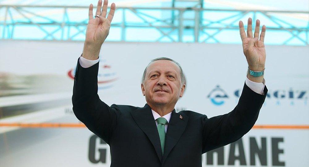 Cumhurbaşkanı Recep Tayyip Erdoğan, 'Gümüşhane Geçişi Çevre Yolu Açılış Töreni'nde konuştu.