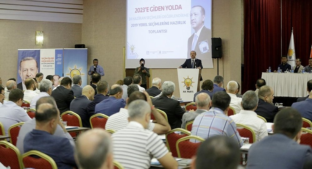 AK Parti Seçim İşlerinden Sorumlu Genel Başkan Yardımcısı Ahmet Sorgun