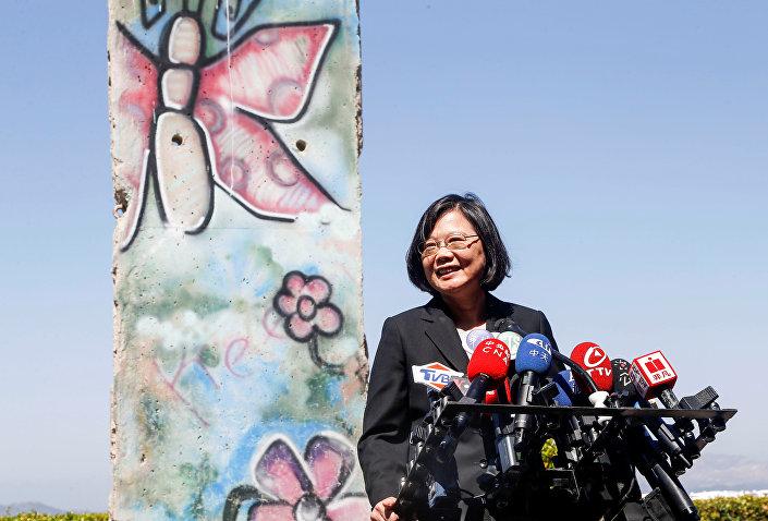 Tayvan lideri Tsai Ing-wen, Ronald Reagan Kütüphanesi'ni ziyaret etti
