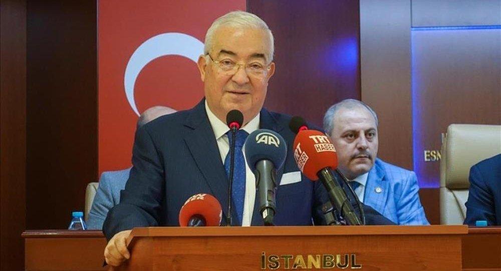 İstanbul Esnaf ve Sanatkarlar Odaları Birliği (İSTESOB) Başkanı Faik Yılmaz