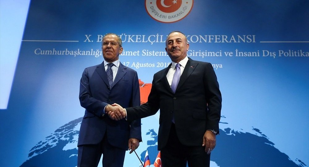Sergey Lavrov, Mevlüt Çavuşoğlu