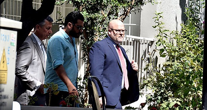 ABD'nin Ankara Büyükelçiliği Maslahatgüzarı Jeffrey Hovenier