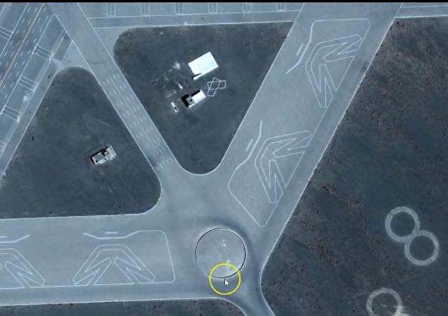 Google, Kuzey Çin'deki Gobi çölünde gizli bir askeri üssü ortaya çıkardı iddiası