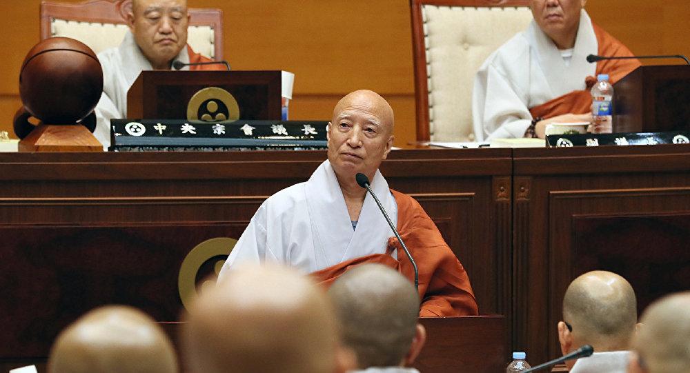 Jogye Budizmi'nin başkanı Seoljeong