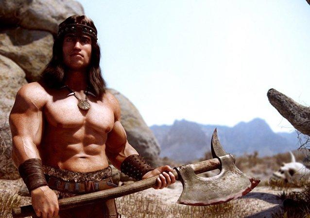Barbar Conan - Arnold Schwarzenegger
