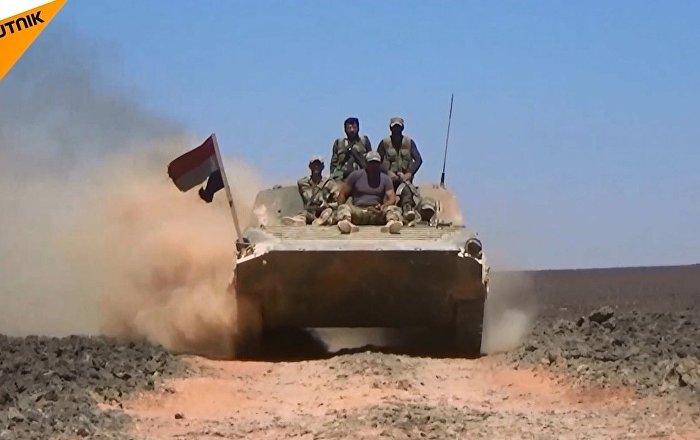 Suriye: Ordu çölde teröristleri ablukaya aldı