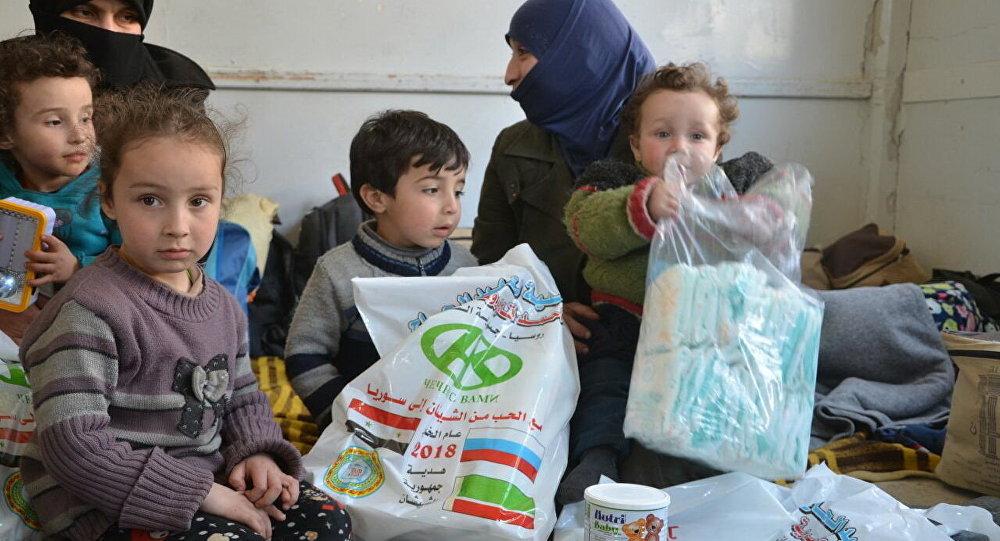 'Şu ana kadar, tıbbi yardım sırasında 35.000 gıda seti ve 20.000 tıbbi malzeme seti dağıtmış bulunuyoruz'