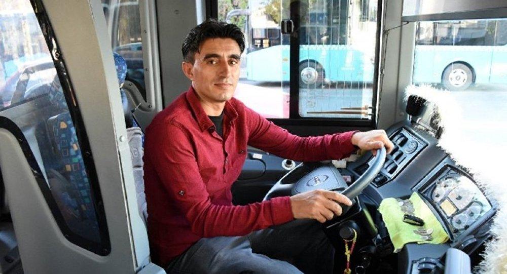 Otobüs şoförü Ömer Taşdemir