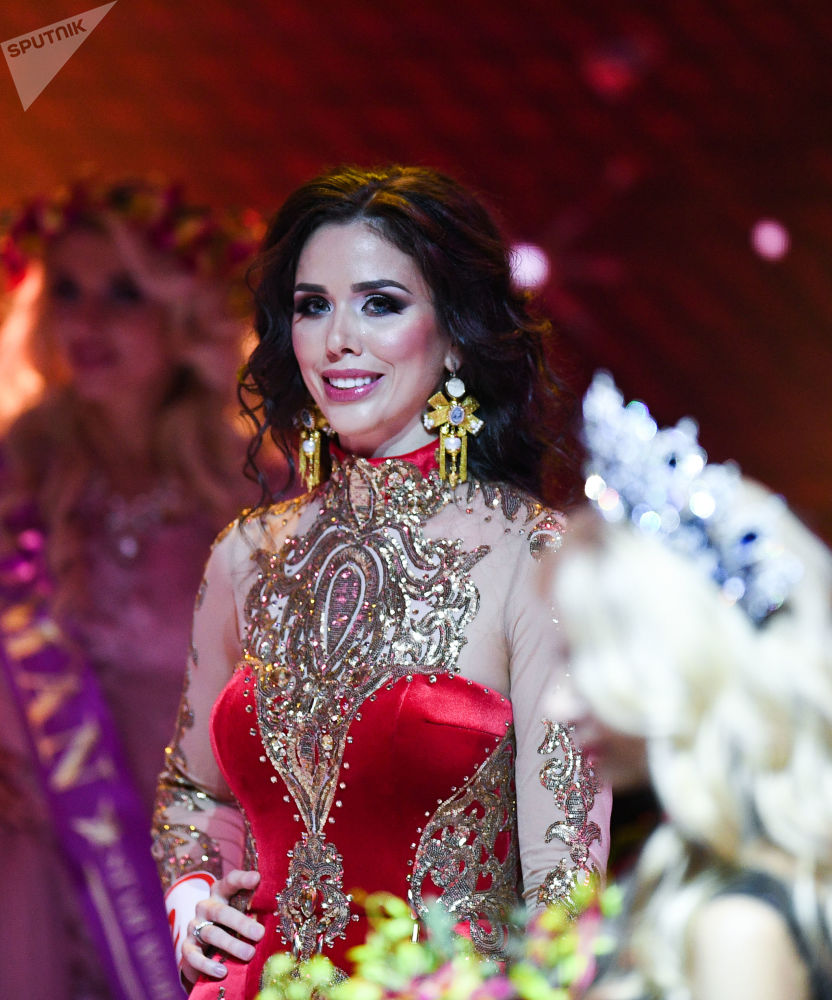Moskova'da Mrs. Russia Güzellik Yarışması