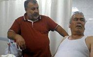 Bursa'da bir kişinin kafasına keçi düştü