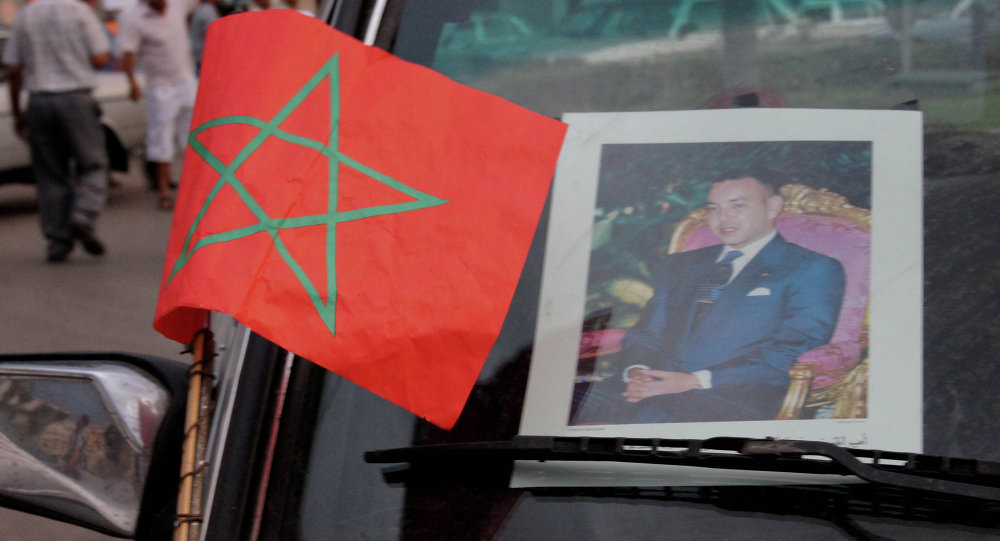 Car of Morocco's King Mohammed VI