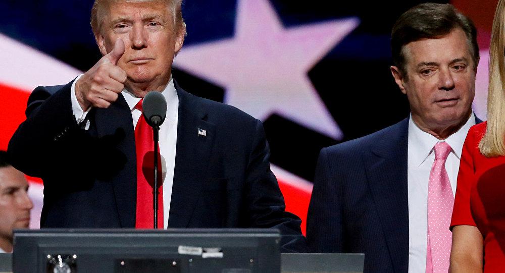 ABD Başkanı Donald Trump ve Paul Manafort