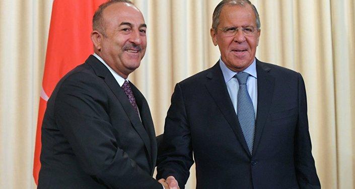 Sergey Lavrov- Mevlüt Çavuşoğlu