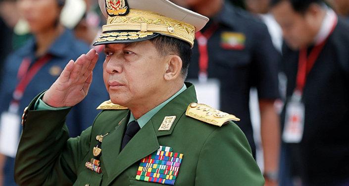 Myanmar'ın Başkomutanı Kıdemli General Min Aung Hlaing