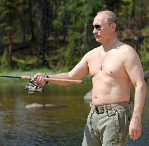 Rusya Devlet Başkanı Vladimir Putin, haftasonu tatili için Tuva'da