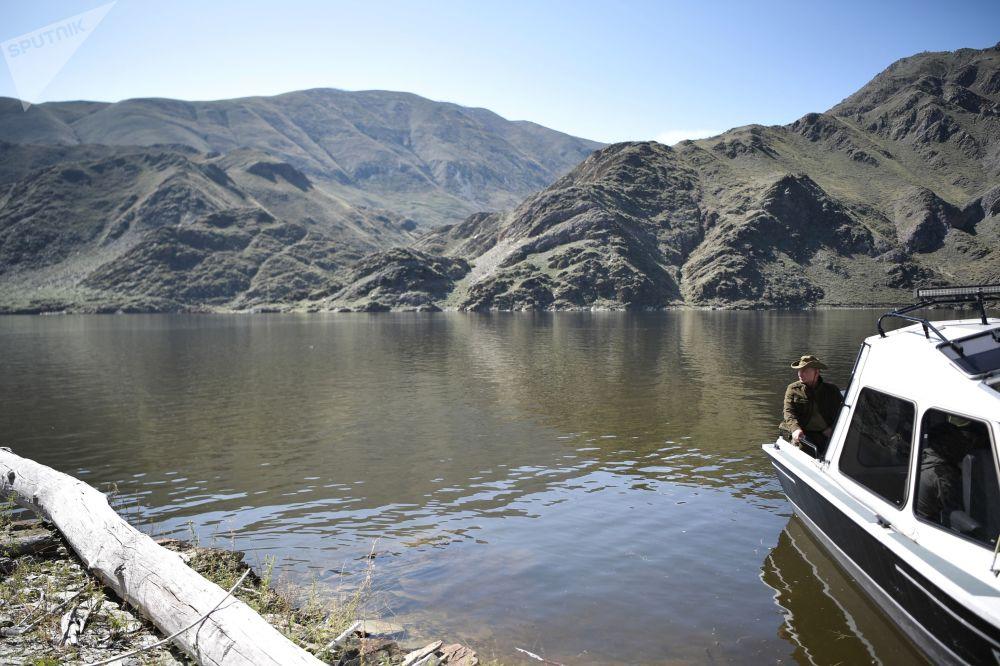 Putin haftasonu tatil için yine Tuva'yı tercih etti