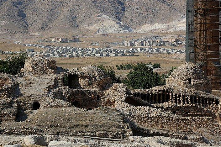 Tarihi yapıların 'Modern Hasankeyf'e zorunlu göçü sürüyor