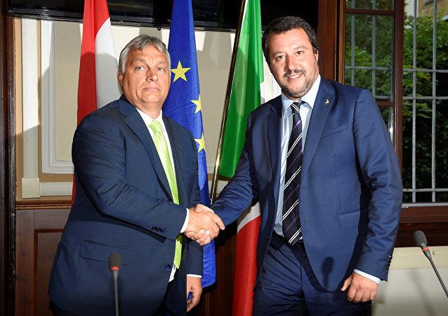 Orban ile Salvini