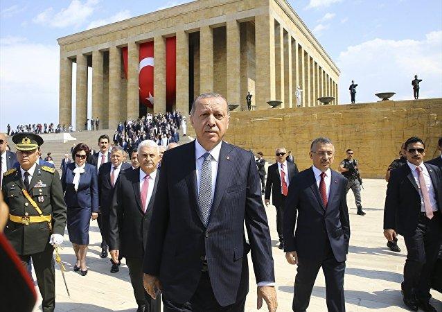 Erdoğan, anıtkabir