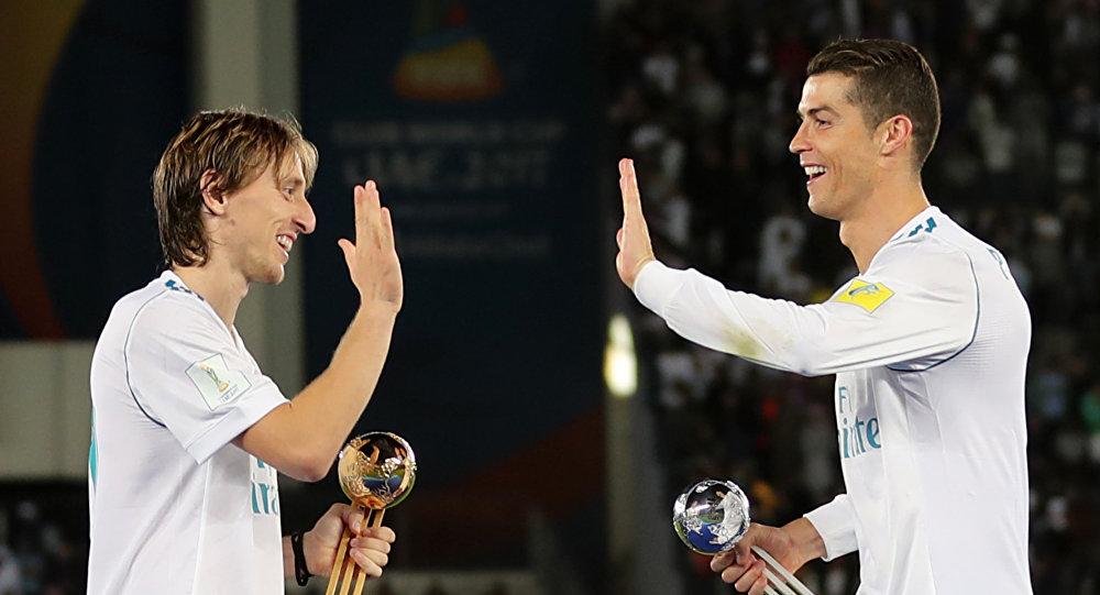 Cristiano Ronaldo-Luka Modric