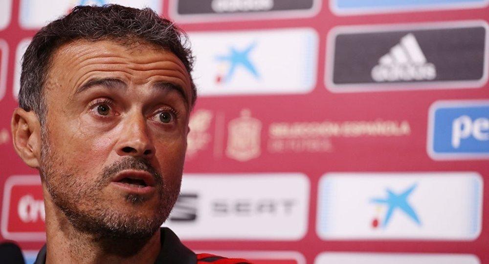 İspanya Milli Takım Teknik Direktörü Luis Enrique