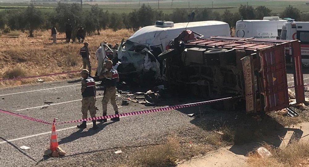 Gaziantep trafik kazası