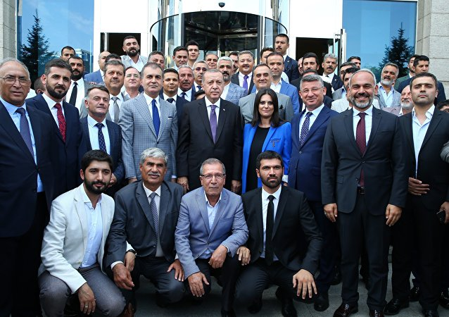 AK Parti, MYK, Recep Tayyip Erdoğan
