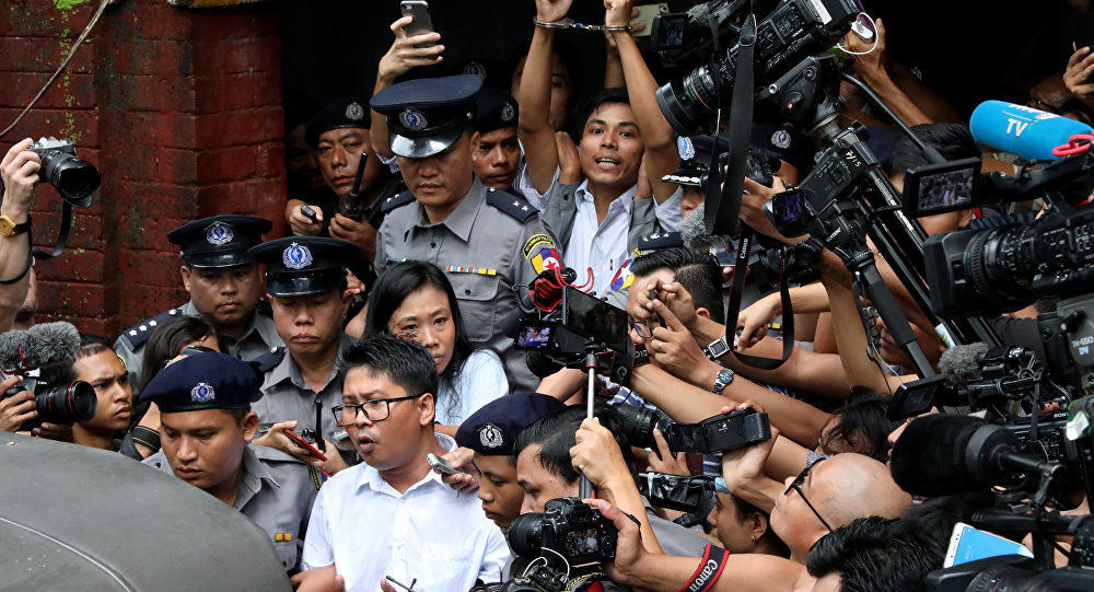 Myanmar'daki Reuters muhabirlerine yedişer yıl hapis