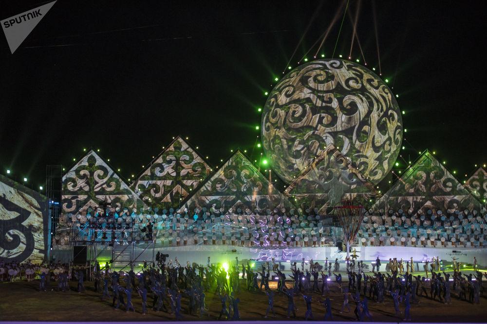 Dünya Göçebe Oyunları açılış töreni