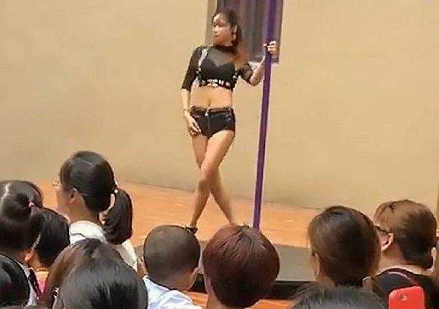 Çin - direk dansı