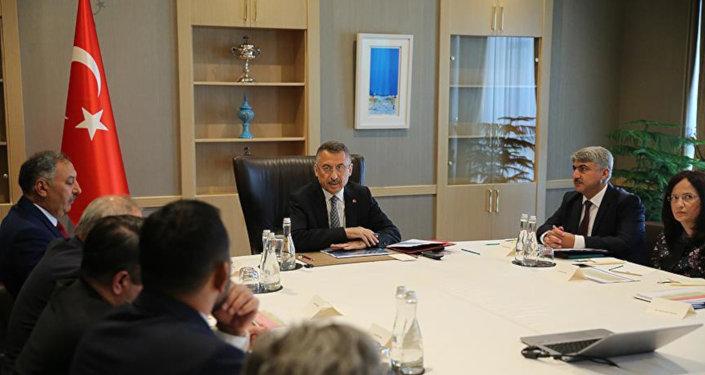 Suriye Koordinasyon Toplantısı Oktay başkanlığında yapıldı