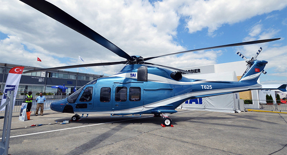 Bir kısmı yerli olan helikopter T625 ilk uçuşunu gerçekleştirdi