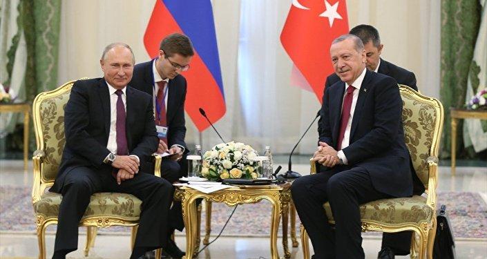 Recep Tayyip Erdoğan - Vladimir Putin