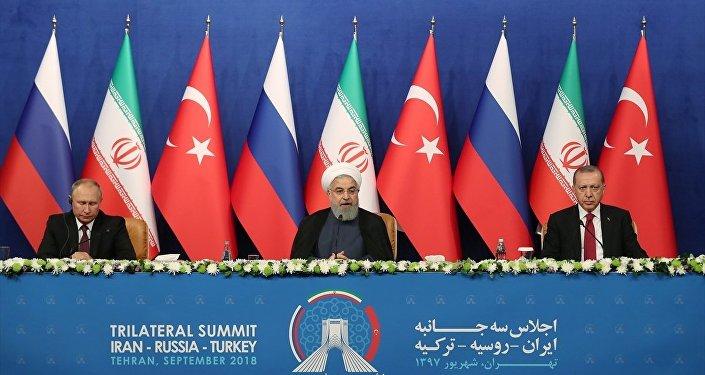 Erdoğan-Ruhani-Putin