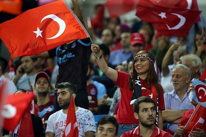 Türk A Milli Futbol Takımı'nın, UEFA Uluslar B Ligi 2. Grup'ta Rusya ile Trabzon'da Medical Park Stadı'nda karşılaşacağı maça Türk Milli Takım taraftarları ilgi gösterdi.