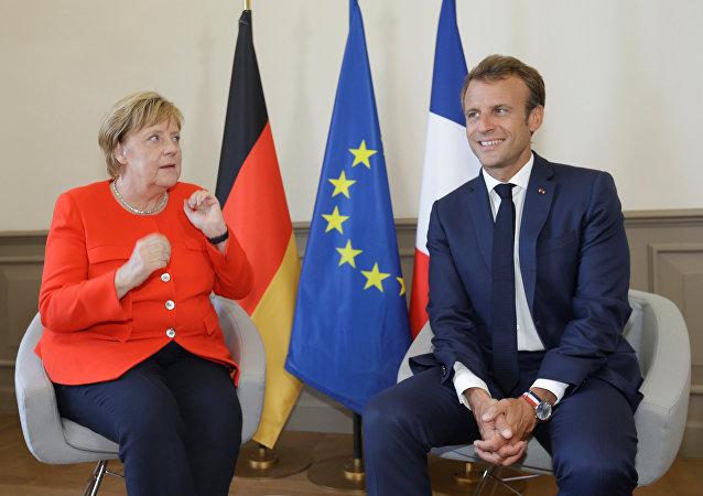 Angela Merkel-Emmanuel Macron