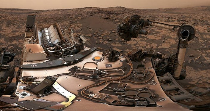 NASA, Curiosity'nin selfie'sini yayınladı