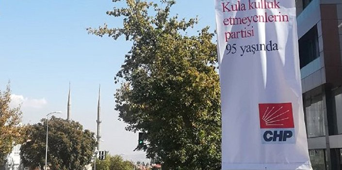 CHP 95. yıl afişi