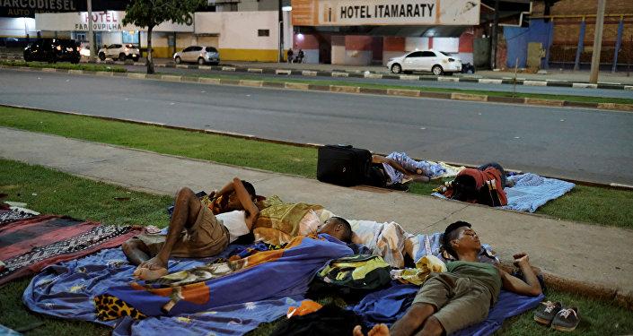 Brezilya'da yaşayan Venezüellalı göçmenler
