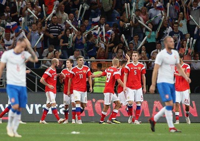 Rusya ile Çekya hazırlık maçı