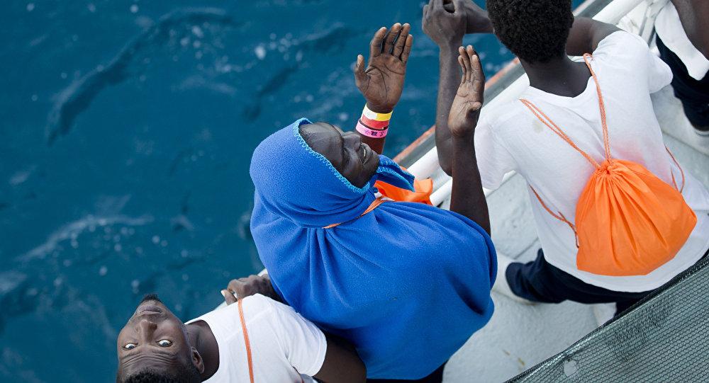 Afrikalı göçmenler