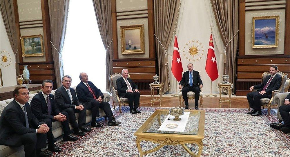 Recep Tayyip Erdoğan - TÜSİAD heyeti