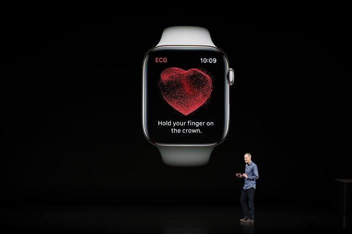 Apple Watch 4 Series kalp ritmindeki düzensizlikleri rahatlıkla algılayabilecek.