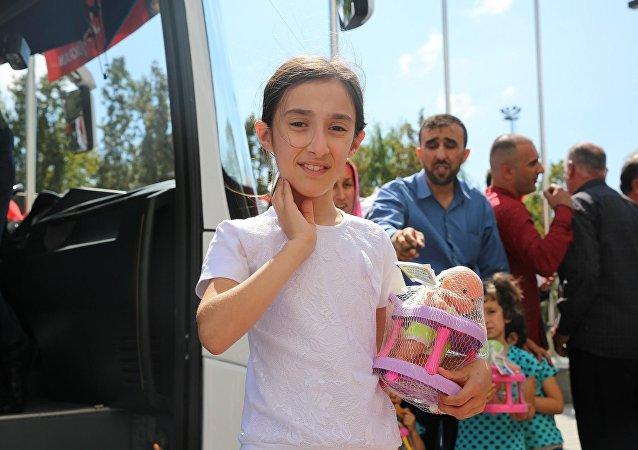 Kocası ve çocuklarını 'Suriye'ye dönmek istemiyorum' diyerek terk etti