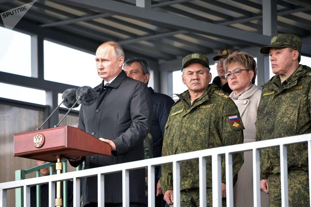 Putin Vostok-2018 tatbikatında
