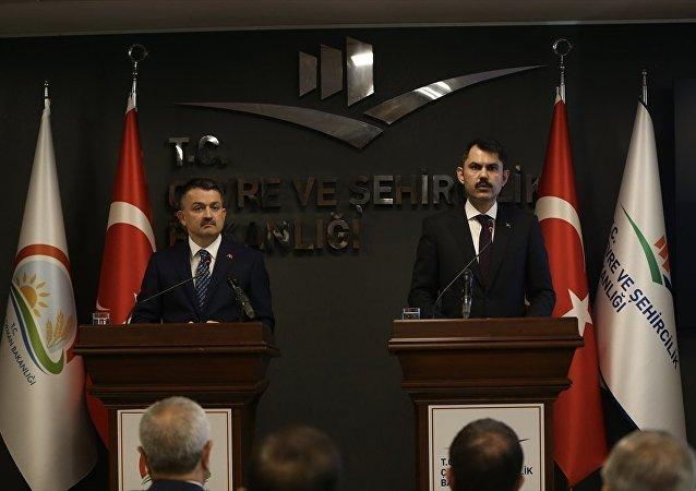 Murat Kurum - Bekir Pakdemirli