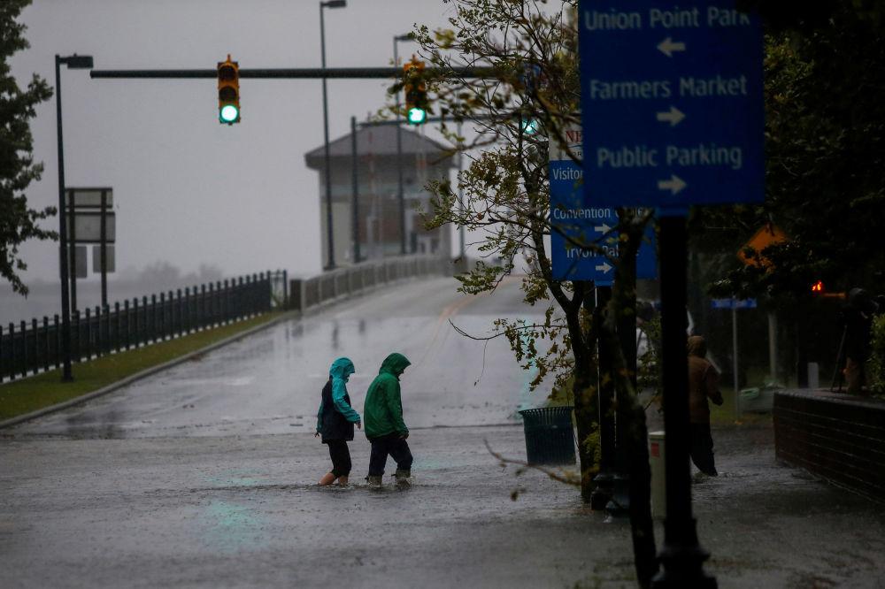 ABD'de etkili olan Florence kasırgası