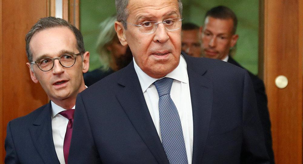 Almanya Dışişleri Bakanı Heiko Maas, Rus mevkidaşı Sergey Lavrov ile Berlin'de ortak basın toplantısı düzenledi.