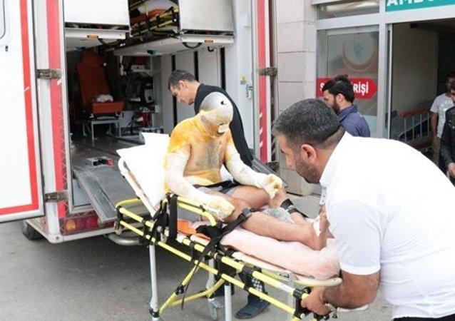Tuz ocağında patlama: 3 işçi yaralı, işletme sahibi gözaltında