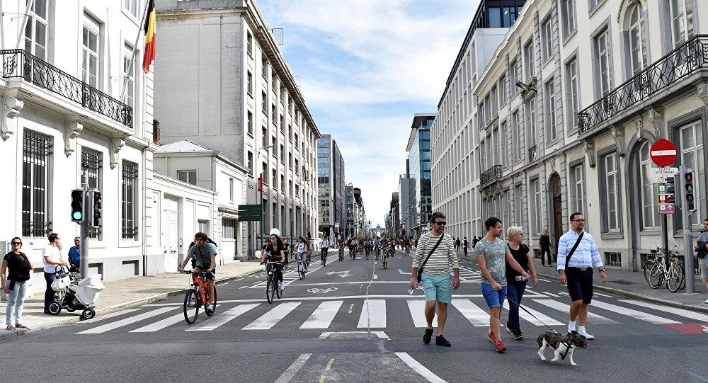 Brüksel'de 'Arabasız gün'